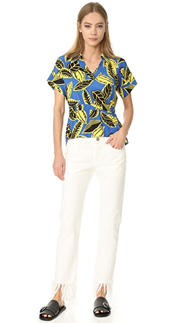 Boutique Moschino Short Sleeve Button Down