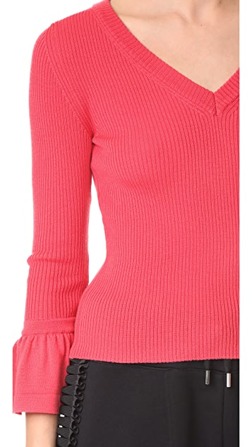 Boutique Moschino V Neck Sweater