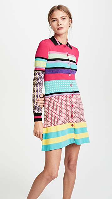 Boutique Moschino Collared Dress
