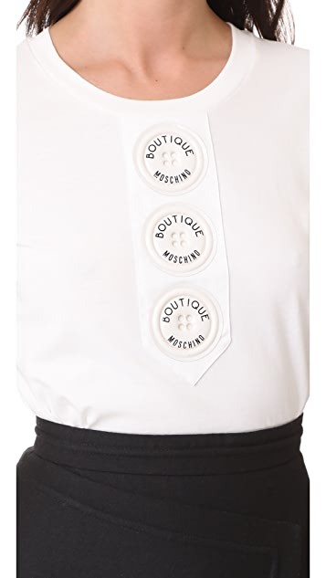 Boutique Moschino Short Sleeve Tee