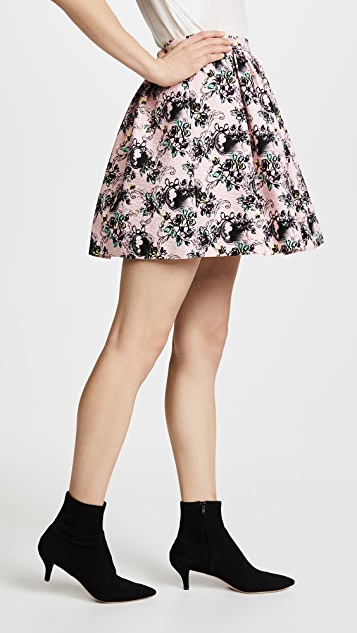 Boutique Moschino Patterned Skirt