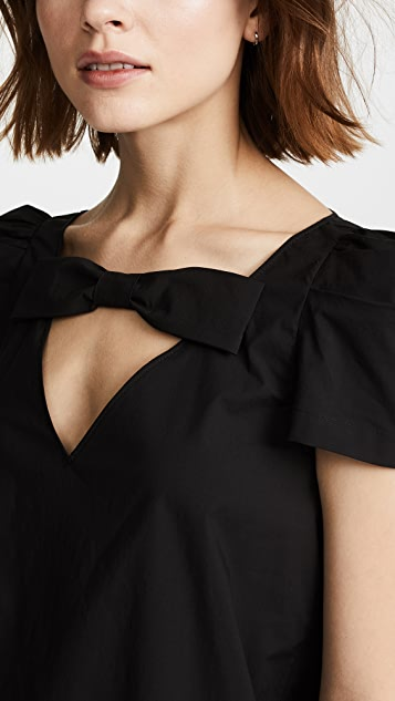 Boutique Moschino Bow Detail Blouse