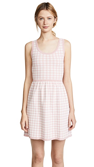 Boutique Moschino Gingham Sleeveless Dress