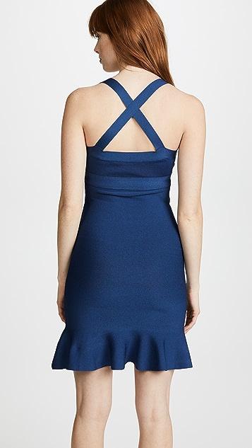 Boutique Moschino V Neck Dress