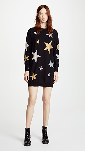 Boutique Moschino Star Mini Dress