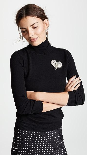 Boutique Moschino Turtleneck Sweater
