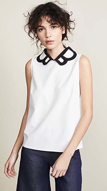 Boutique Moschino Collared Blouse