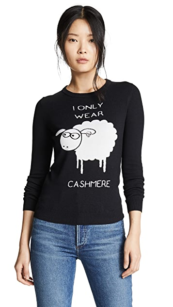 Boutique Moschino Кашемировый свитер I Only Wear