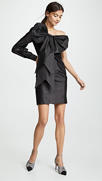 Boutique Moschino One Sleeve Cocktail Dress