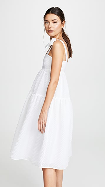 Boutique Moschino Многоуровневое платье без рукавов