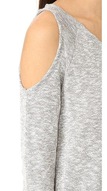 bobi Cold Shoulder Sweater