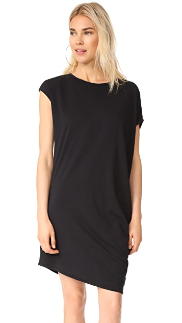bobi Side Draped Asymmetrical Tunic