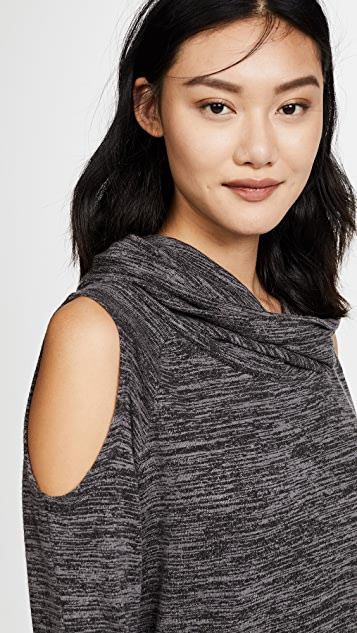 bobi Cowl Neck Sweater
