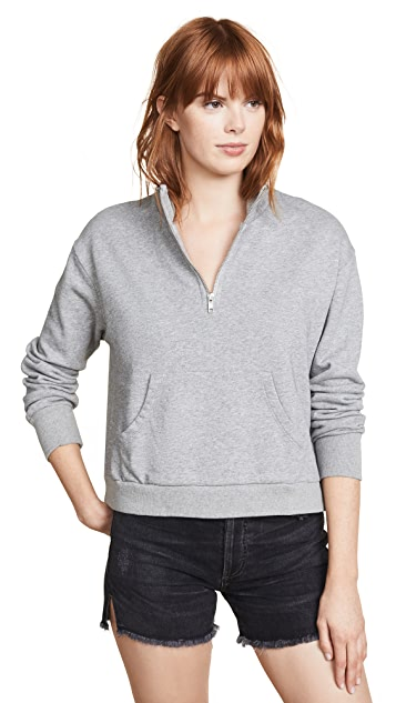 bobi Quarter Zip Sweatshirt