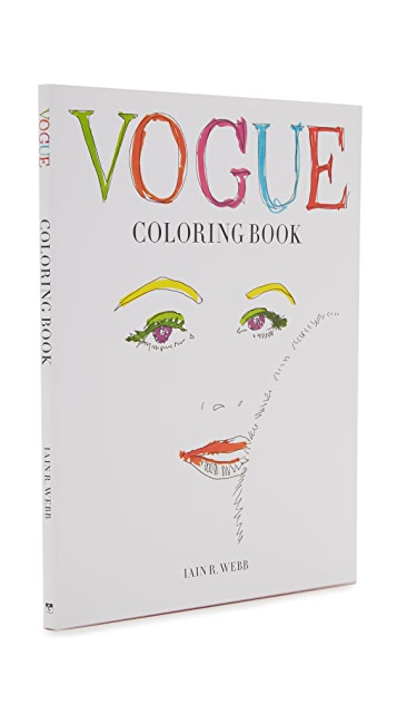 «Books with Style» Vogue Coloring Book