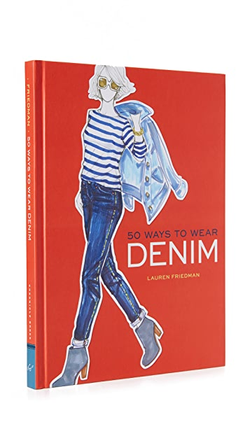 Books with Style 50 Ways to Wear Denim