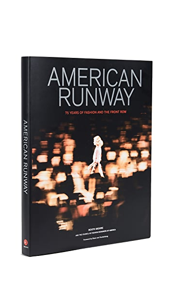 Books with Style American Runway: 75 Years of Fashion and the Front Row