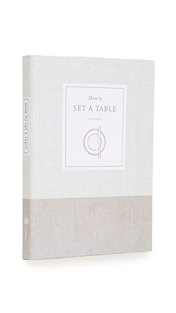 Books with Style How to Set a Table