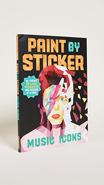 «Books with Style» «Paint By Stickers: Music Icons»