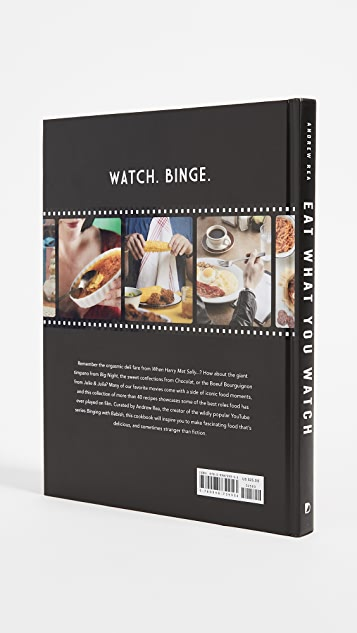 Books with style the eat what you watch recipe book shopbop books with style the eat what you watch recipe book forumfinder Images