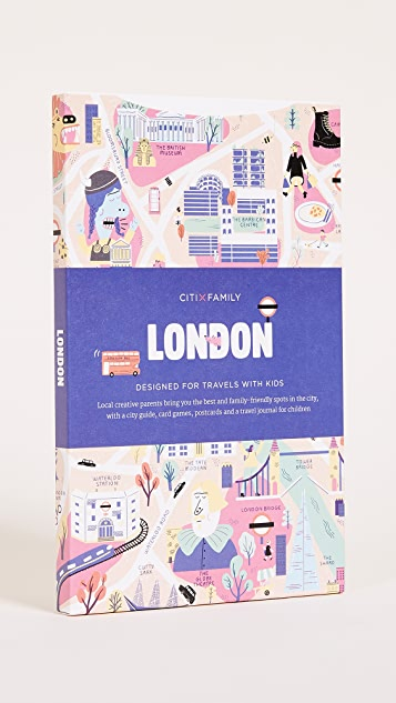 Books with Style CitiXFamily London Travel Guide & Map - Multi