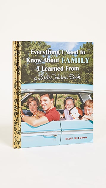 Books with Style Everything I Need to Know About Family I Learned from a Little Golden Book