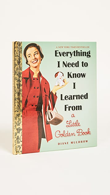 Books with Style Everything I Need To Know I Learned From a Little Golden Book