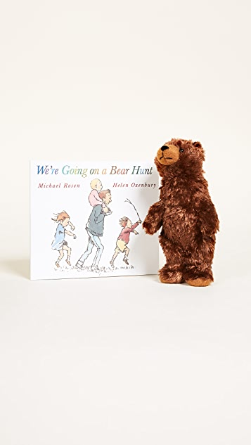 Books with Style We're Going on a Bear Hunt Book & Toy Set