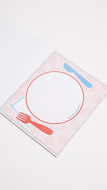 Books with Style Art While You Eat Place Mats