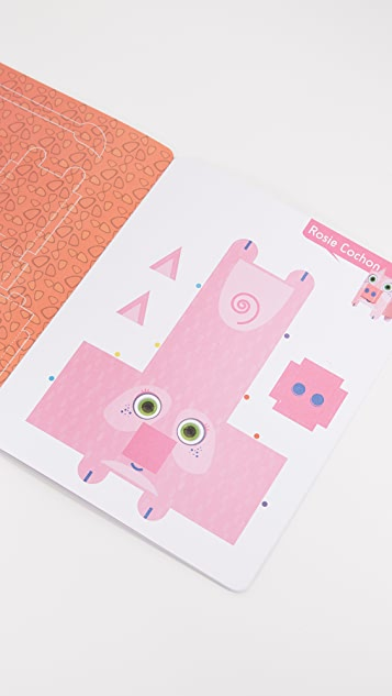 Books with Style Child's Paper Toys Animals