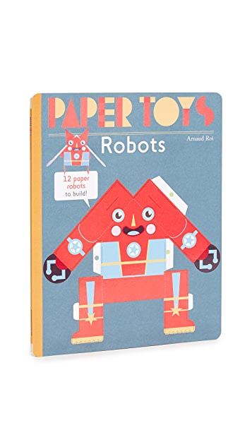 Books with Style Paper Toys Robots