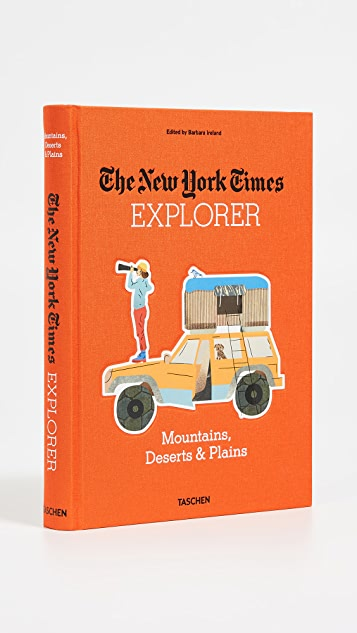 «Books with Style» New York Times Explorer: Mountains, Deserts, & Plains