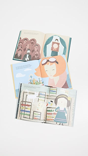 Books with Style Little People Big Dreams Women in Science Box Set