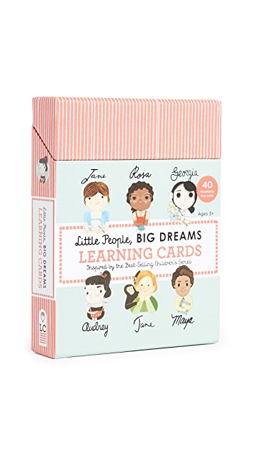 Books with Style Little People Big Dreams Learning Cards Book