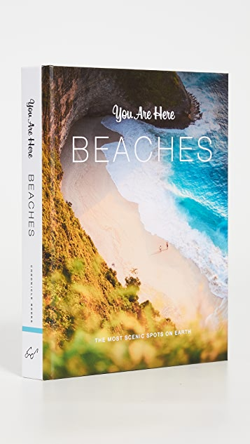 Books with Style You Are Here: Beaches Book