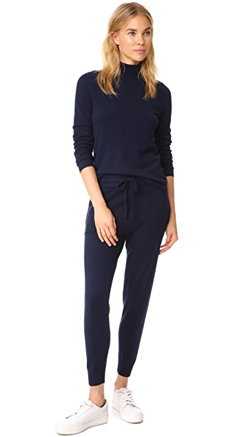 Bop Basics Mock Neck Cashmere Sweater