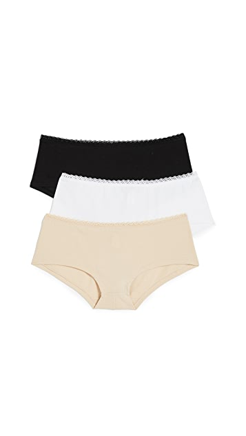 Bop Basics x Cosabella Boy Shorts 3 Pack
