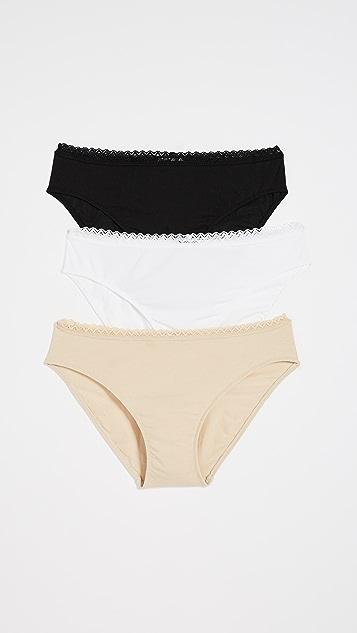Bop Basics x Cosabella Bikini Briefs 3 Pack