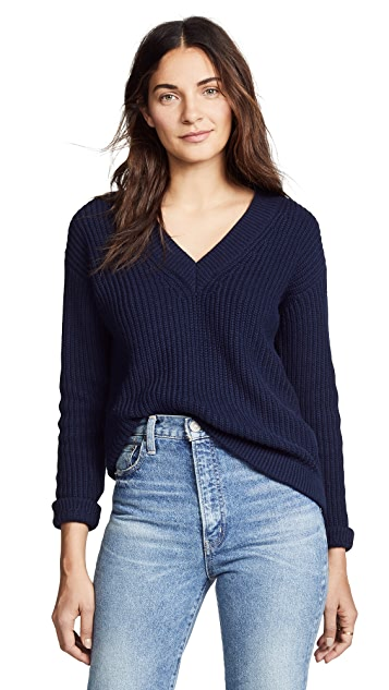 Bop Basics Deep V Sweater