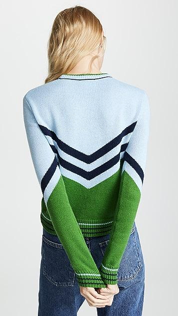 Bop Basics Винтажный пуловер в студенческом стиле