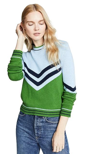 Bop Basics Vintage Varsity Pullover