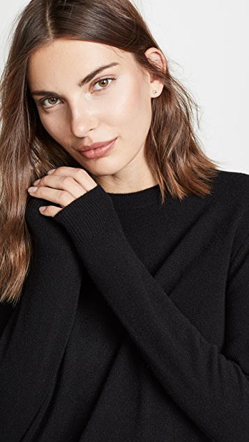 Bop Basics Свободный кашемировый свитер