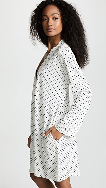 Bop Basics Polka Dot Printed Robe