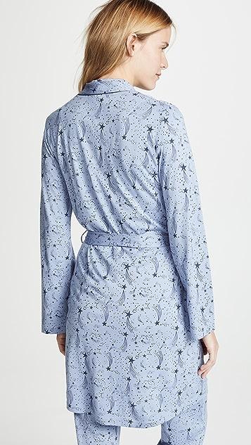 Bop Basics Stars Printed Robe