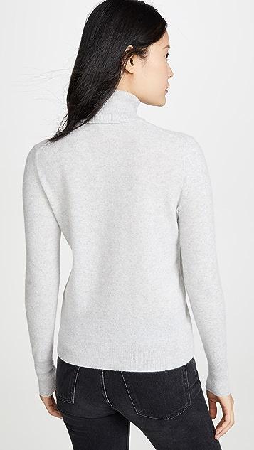 Bop 基础款 纯色开司米羊绒高领毛衣