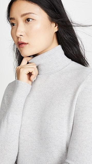 Bop Basics 纯色开司米羊绒高领毛衣