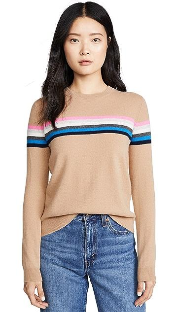 Bop Basics Rainbow Cashmere Sweater