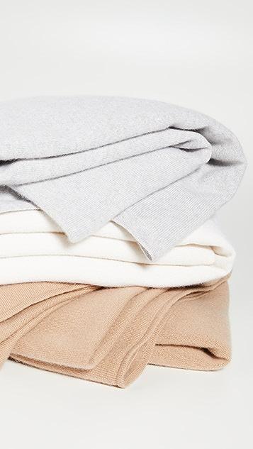 Bop Basics 开司米羊绒盖毯