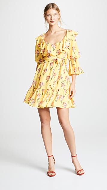 Borgo de Nor Loulou Tiered Sleeve Dress