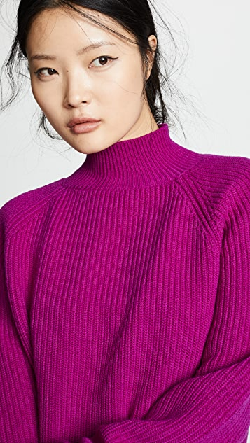 Borgo de Nor Wool Turtleneck Sweater